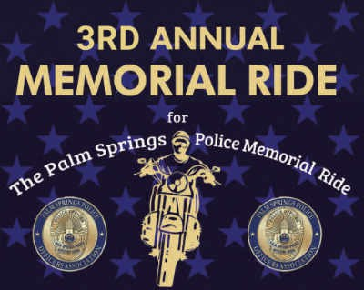 Don't Forget - Annual Memorial Ride next Saturday 11/9